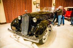 1937 V16 Cadillac Fleetwood Dual Cowl Sport Phaeton