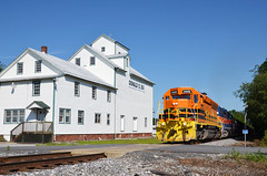 2015 06-29 0937.3 MMID SD40-2-3449 E/B UBST at Middleburg, MD