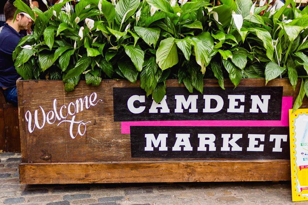 camden lock live planters signage