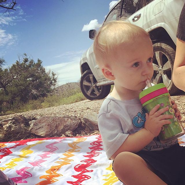 Took the jeep out for Archers first official off road adventure. He had fun and enjoyed our picnic at the top of the mountain. by bartlewife