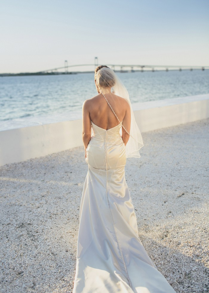 Bride in Newport