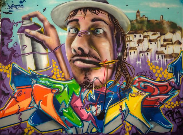 Casares Graffiti 1