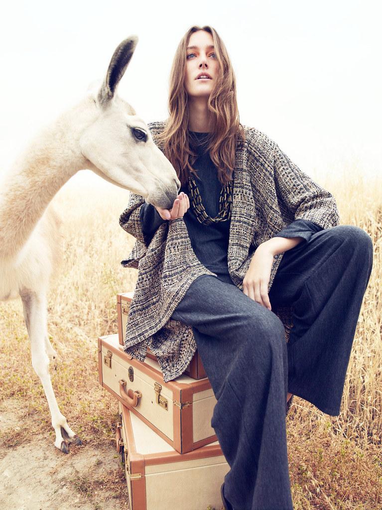 Жозефин Ле Тутур — Фотосессия для «Neiman Marcus» 2015 – 3