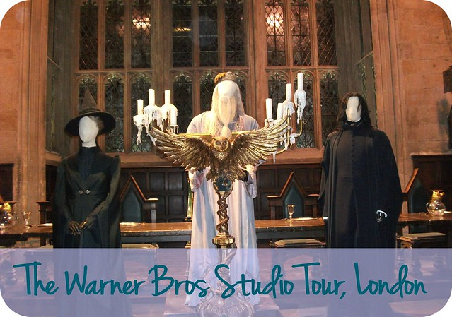 Dumbledore Snape & McGonagall Warner Bros Studio Tour London