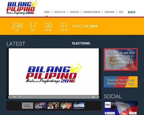 bilang pilipino website full page 2
