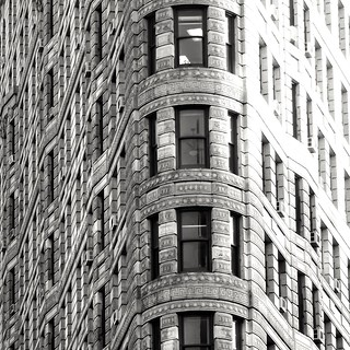 F is for the Facade of the Flatiron building. #jwab #alphabetsoup