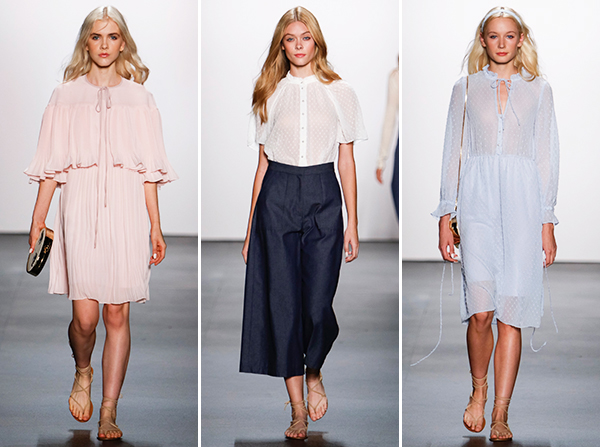 Erin Featherson Spring 2016 NYFW Collection