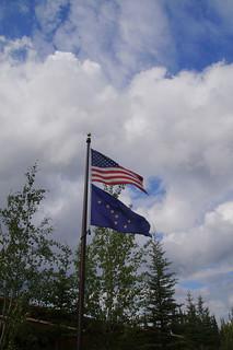 112 Vlaggen USA en Alaska