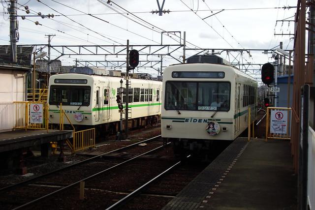 2015/09 叡山電車×わかばガール ヘッドマーク車両 #23