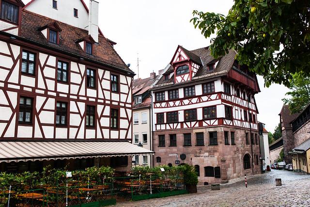Albrecht Durer house. Nuremberg (Nürnberg). Middle Franconia, Bavaria, Germany