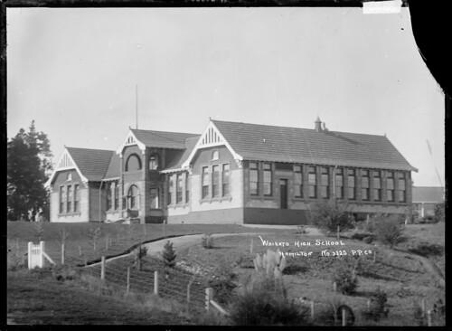 Hamilton High School, Hamilton.