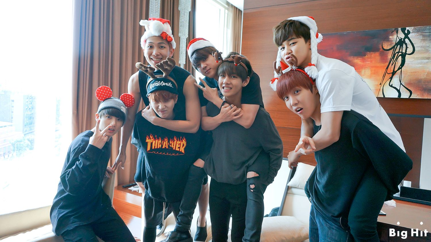 A Christmas Star Cast.Picture Fb Starcast Bangtan Room Summer Christmas Chapter