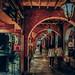 night of Taichung city 時光迴廊  . 夜晚的台中宮原眼科  in Taiwan Taichung . 台灣台中 .   DSC_4963-1 by Ming - chun ( very busy )