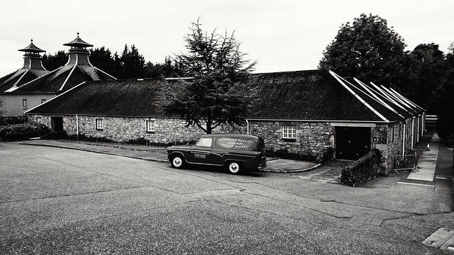 At Glenfiddich distillery, Dufftown