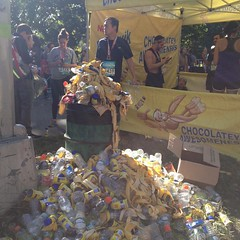 The aftermath #rnrbrooklyn #nesquick #bananas