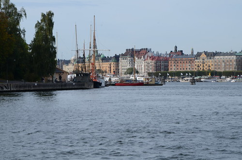 Gamla Stan to Djurgarden via ferry