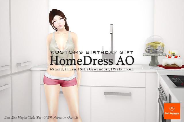 {GIFT} HomeDress AO @ Kustom9