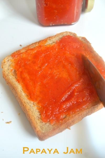 Homemade Papaya Jam - Papaya Jam Recipe