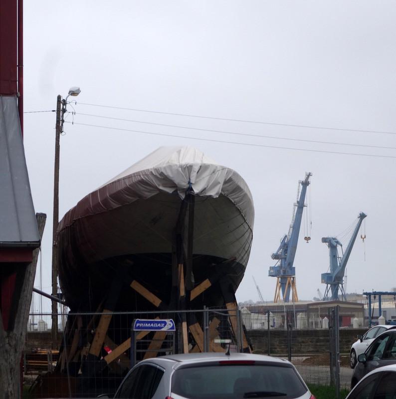 Brest, port du trophée Jules Verne