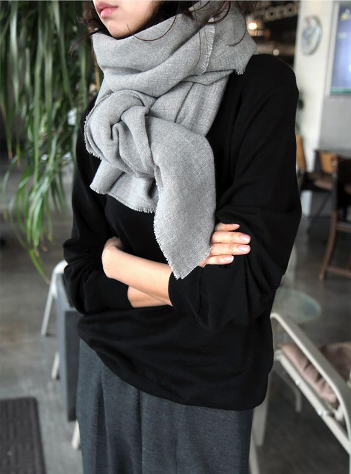 Coats Scarfs And Sweater Winter outfits inspiration streetstyle4