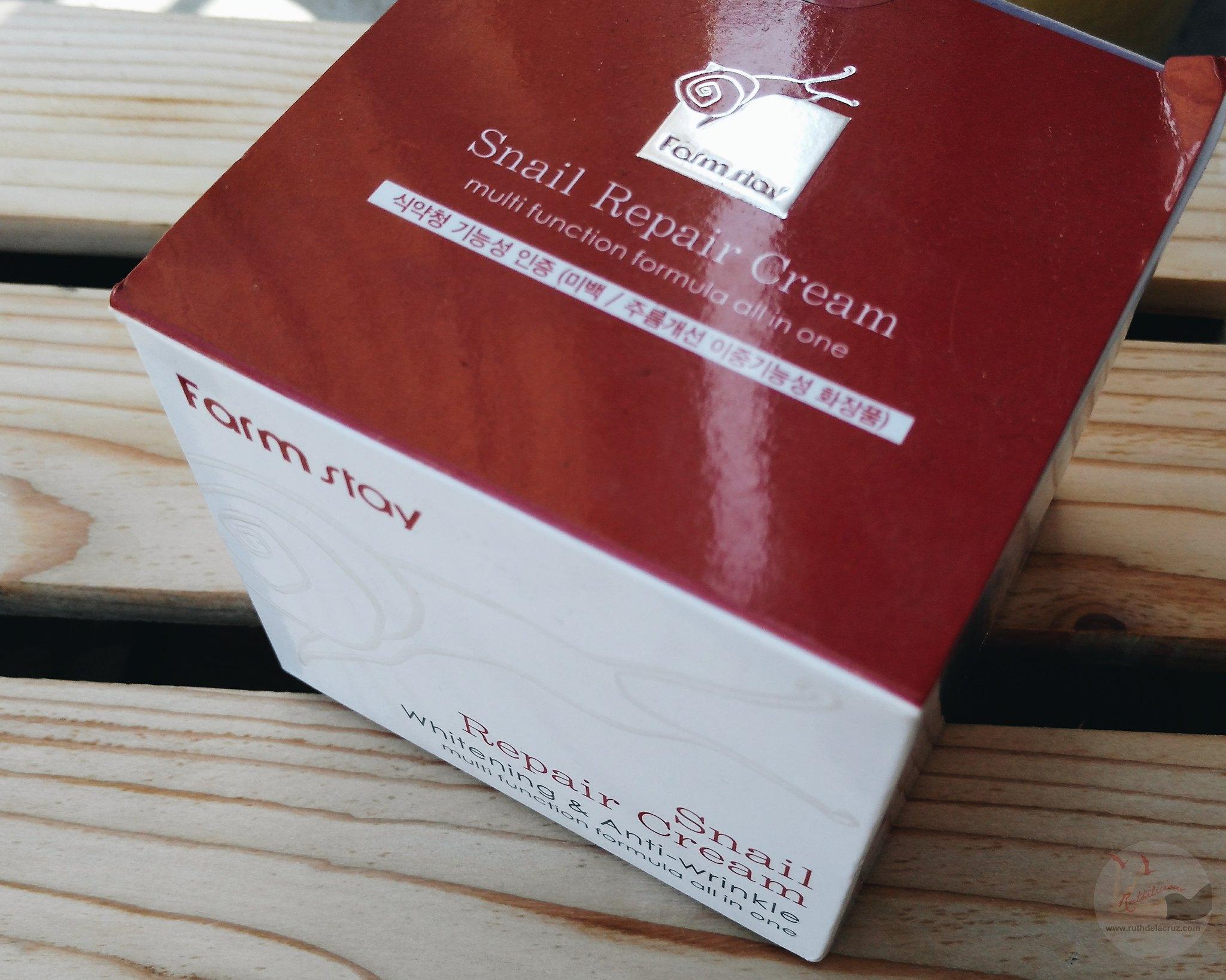 farmstay snail cream review