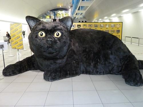 クロネコヤマトの巨大クロネコ