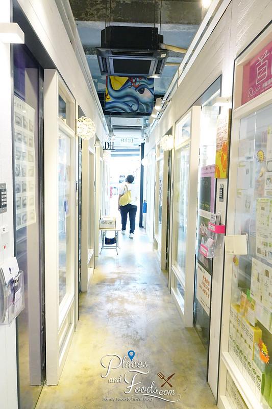 solo mall sai wan hong kong corridor