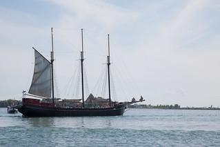 Image of Kajama. toronto ontario ship lakeontario schooner harbourfrontcentre kajama