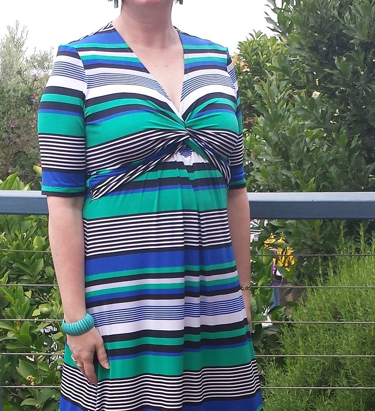 Simplicity 1733 maxi in poly lycra from Darn Cheap Fabrics