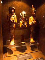 Figures from the mummy's tomb