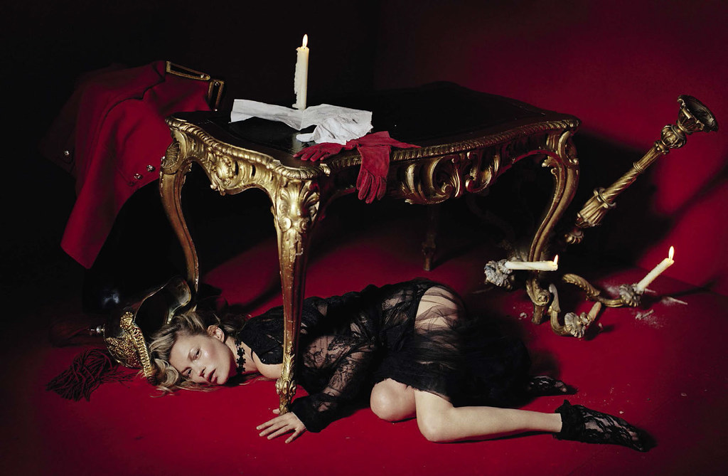Кейт Мосс — Фотосессия для «Vogue» IT 2015 – 1