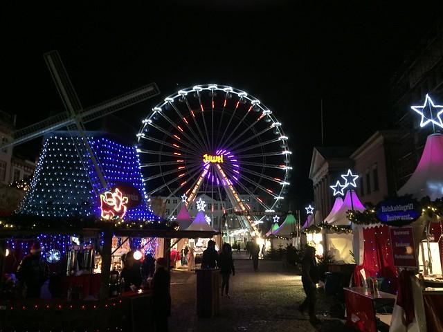 Christmas Market on Nytorv, Copenhagen