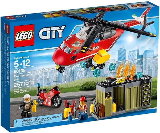 LEGO City 2016 sets   60108 - Fire Response Unit