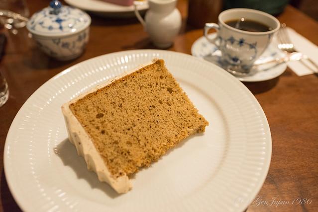 椿屋珈琲店 上野茶廊 紅茶のシフォンケーキ