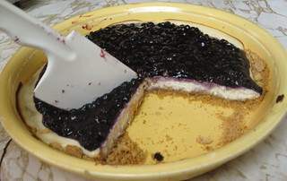Blueberry Chevre Pie 3