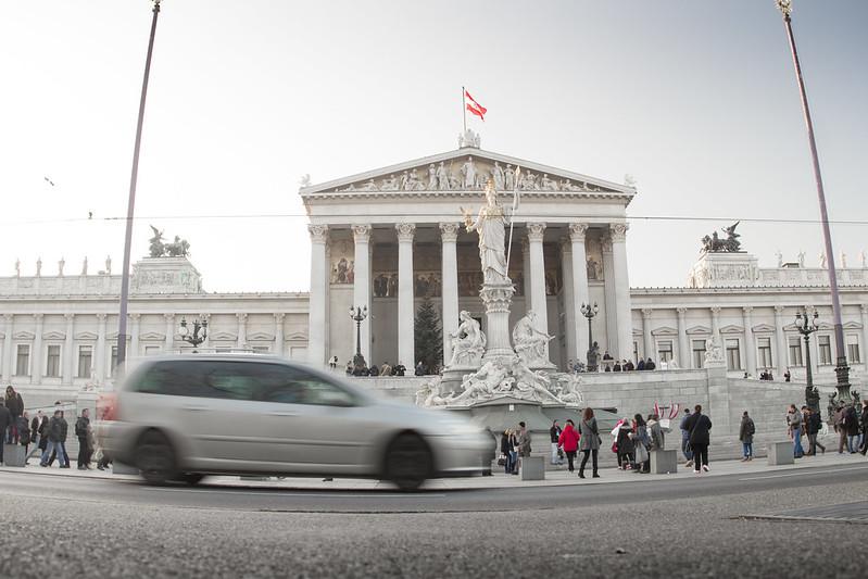 Budynek parlamentu w Wiedniu - Ringstraße