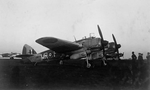 Beaufighter Mk IC T4776 WR-F of No 248 Squadron at St Eval – October 1941