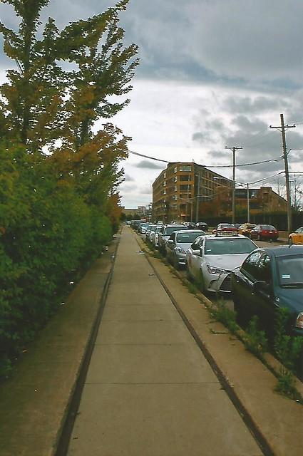 North Branch Street 'Sidewalk' Trackage-Chicago North side Switc