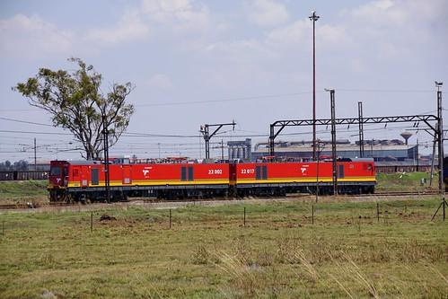 transnet class22e 22002 22017 vanderbijlpark gauteng