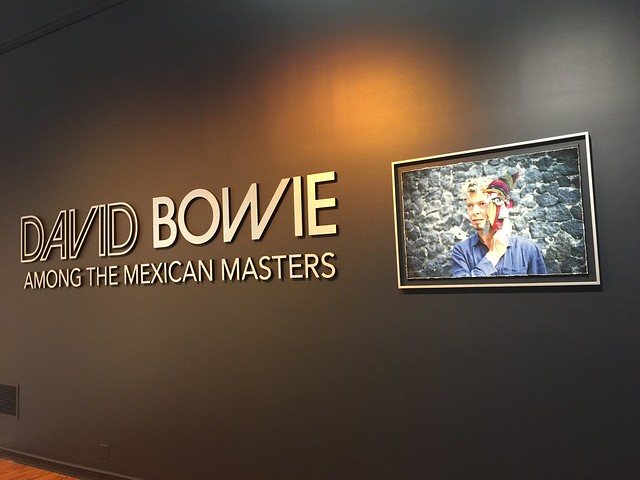 David Bowie at Forest Lawn