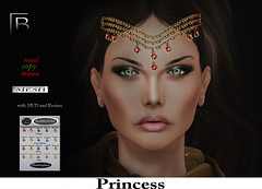 Baboom- Headpiece Princess