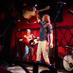 Wed, 22/02/2017 - 6:01pm - Old 97's - Rhett Miller, Murry Hammond, Ken Bethea, and Philip Peeples - perform for a lucky crowd of WFUV Members at Rockwood Music Hall in New York City, Feb. 22, 2017. Hosted by Carmel Holt. Photo by Gus Philippas