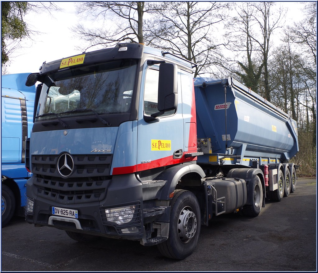 Camion 39 heur 39 s most recent flickr photos picssr for Garage mercedes 93 stains