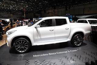 Mercedes-Benz 2017 Concept X-class