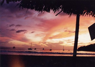 Sunset in Chacala
