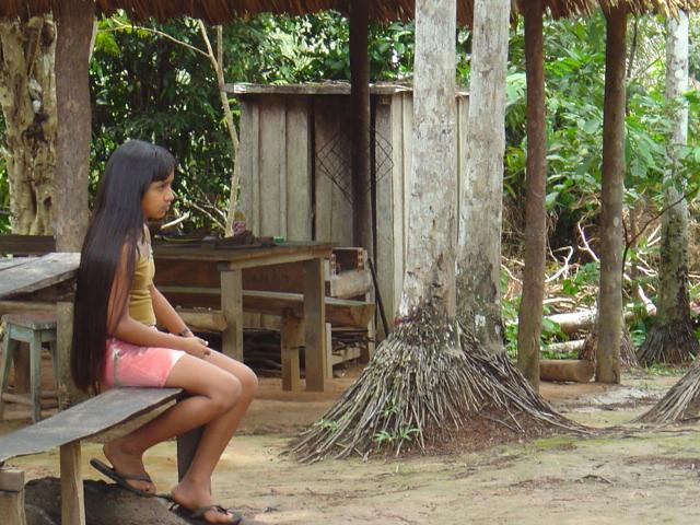 South American Tribal Girls The tribal girl  flickr