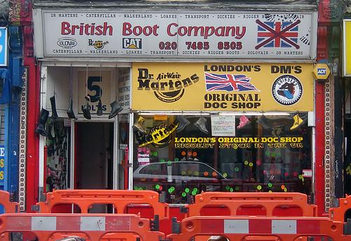 British Boot Company, Camden