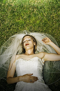 Sleeping bride (grass) #2