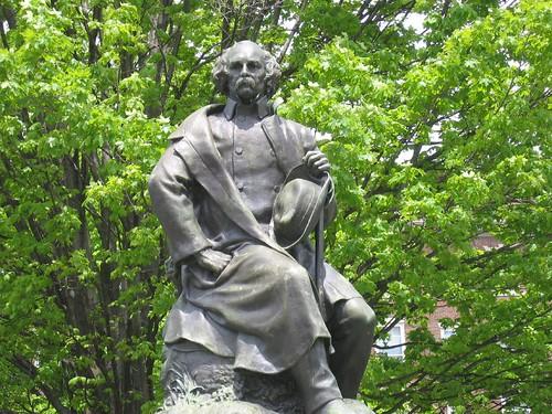 Nathaniel Hawthorne by admiralzing