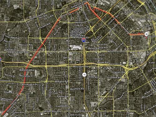 Saturday ride: Cupertino to San Jose